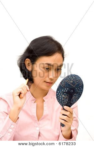 Young Woman Grooming