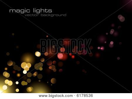Magic Lights background