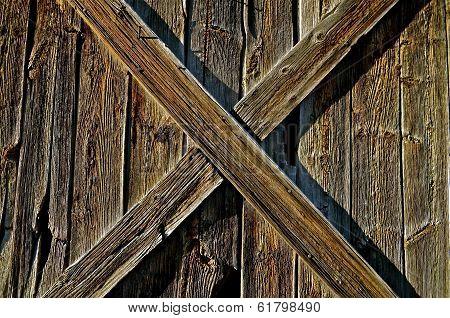 Old Ranch Stable Door