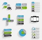pic of population  - Collection of Infographic Templates for Business Vector Illustration - JPG