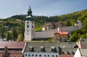 stock photo of banska  - old castle in banska stiavnica slovakia europe - JPG