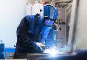 image of welding  - Welding work - JPG
