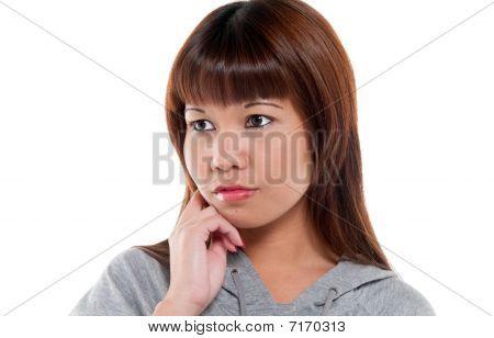 Pensice Oriental Woman