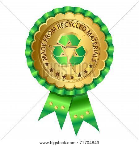 Recycled Rosette