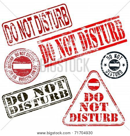 Do Not Disturb Stamps
