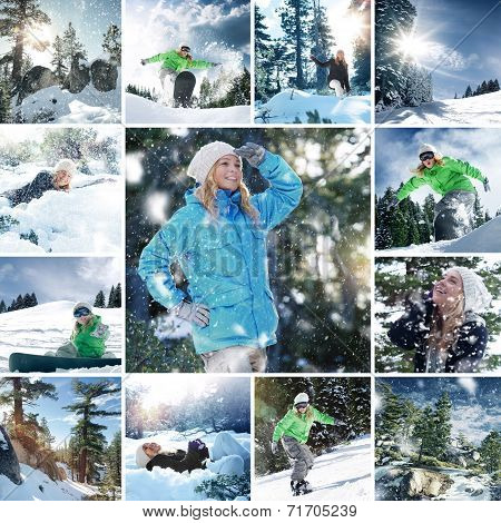 snowboard mix
