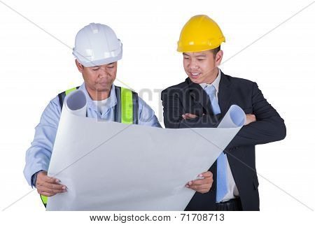 Engineer And Worker