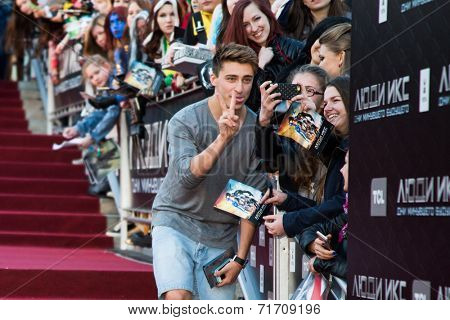 MOSCOW, RUSSIA, May, 13: . Premiere of the movie