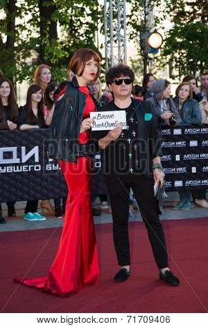 MOSCOW, RUSSIA, May, 13:  A. Erityan. Premiere of the movie