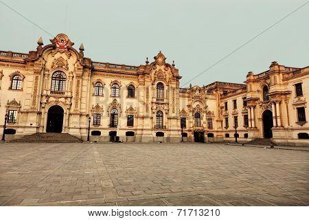 Palacio De Gobierno - Plaza Mayor, Lima