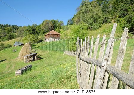 rural area in Kamena Gora, Serbia