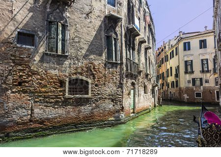 Canal view I, Venice, Italy
