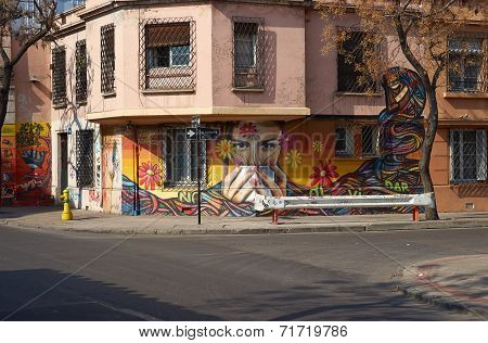 Murals of Barrio Yungay