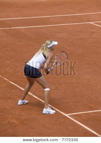 Girl Juniors On Roland Garros