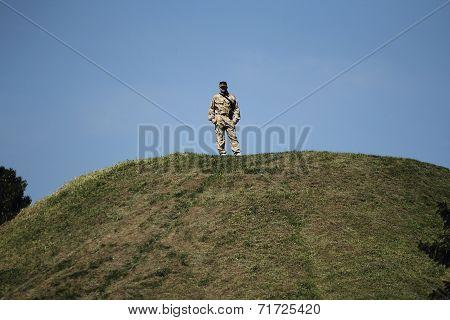 Ukrainian Military Man