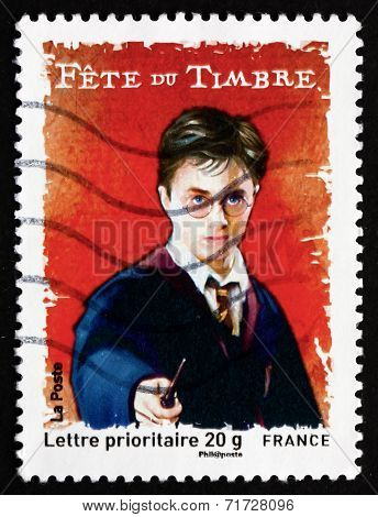 Postage Stamp France 2007 Harry Potter, Young Wizard