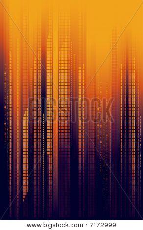 City Skyline Cityscape Background