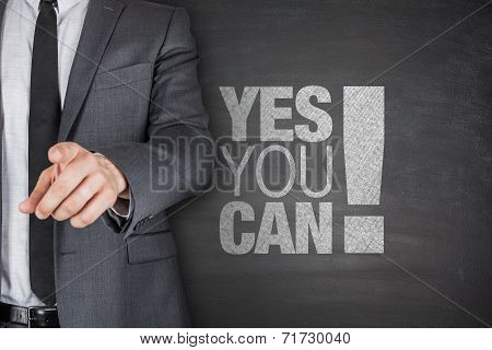 Yes you can on blackboard