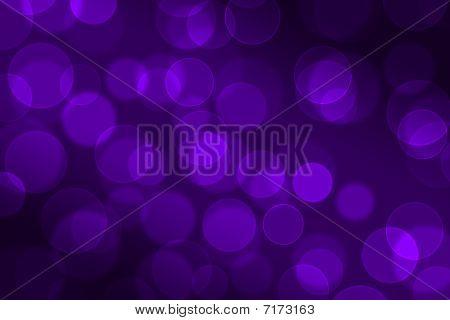 Bokeh Purple