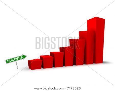 Success Business Graph