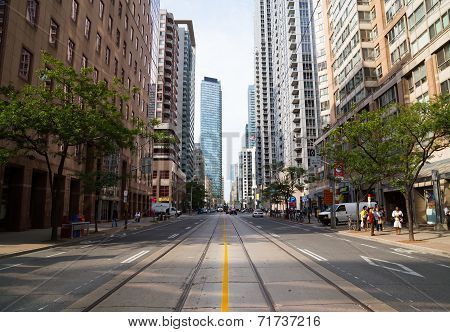 Bay Street Toronto