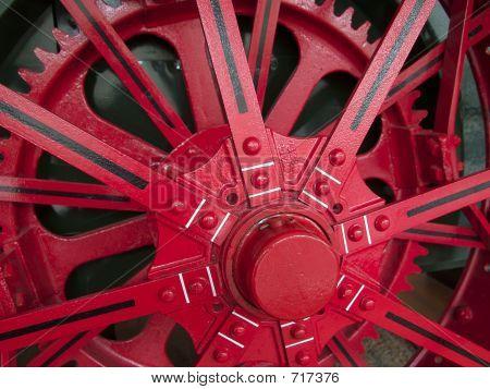 Red Wheel Train