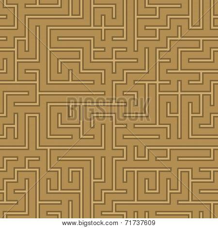 seamless abstract complex maze, labyrinth