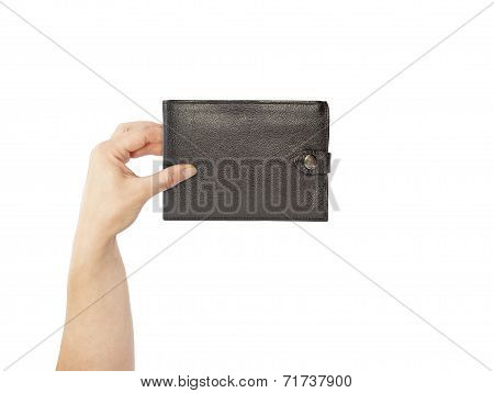 purse in hand