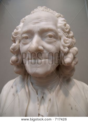 Marble Old Man Bust