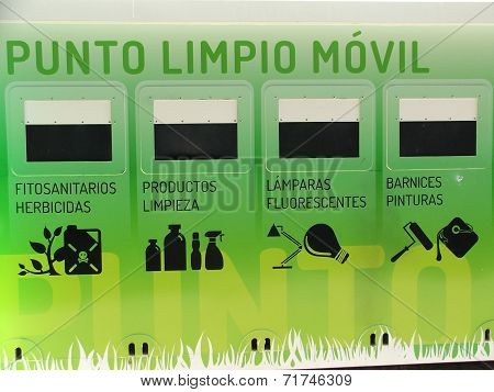 mobile recycling point