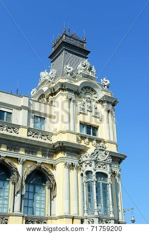 Old Customs House, Port de Barcelona, Spain