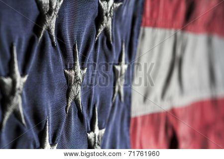 Old Glory Close Up
