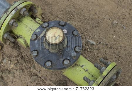 Hydraulic Water Pump Gauge