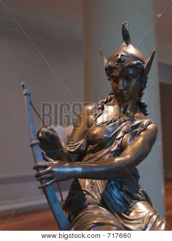 Diana Warrior Sculpture