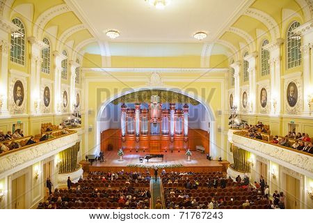 Big Concert Hall Of Moscow Conservatory