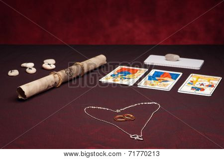 Clairvoyance Equipment With Weddings Rings