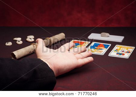 Clairvoyance Equipment With Palm