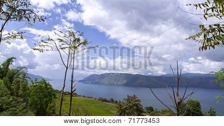 Lake Toba View.