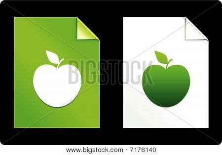 Apple On Paper Set