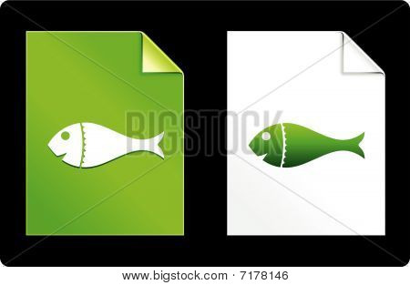 Fish On Paper Set