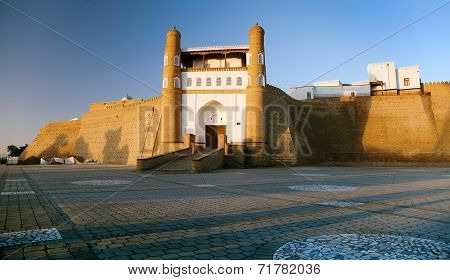 Fortres Ark - Ark Entrance - City Of Bukhara