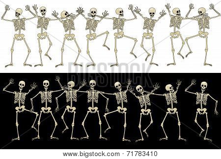 Fun skeletons
