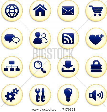 Internet Icon Buttona