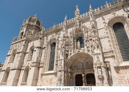 Beautiful gothic Portuguese Cathedral