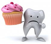 picture of molar tooth  - Fun tooth - JPG