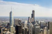picture of illinois  - Beautiful skyline of Chicago  - JPG