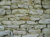 pic of fieldstone-wall  - The old construction - JPG