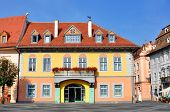 picture of sibiu  - sibiu city romania Lutsch House landmark old building - JPG