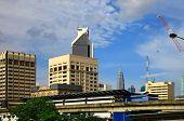 foto of petronas towers  - View of the Kuala Lumpur - JPG