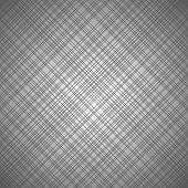 image of cross-hatch  - Vector seamless gray pattern with cross lines - JPG
